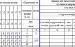 Отпуск в табеле учета рабочего времени: обозначения