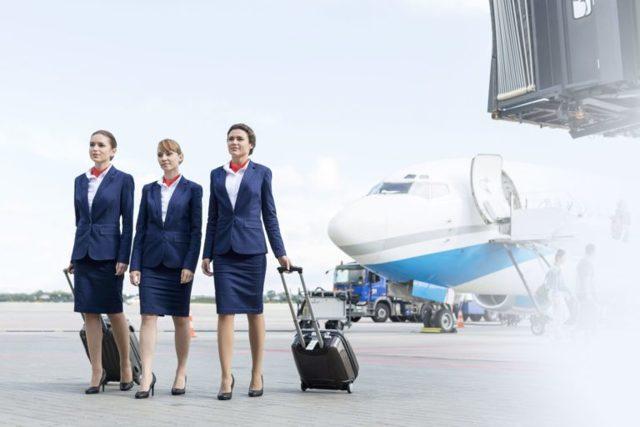 Средняя зарплата стюардессы