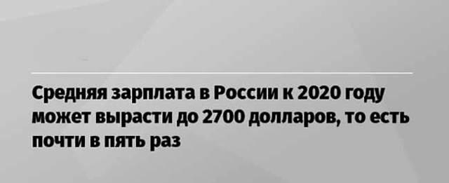 Средняя зарплата по регионам России 2020