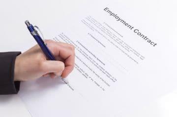 Трудовой договор со сторожем: образец