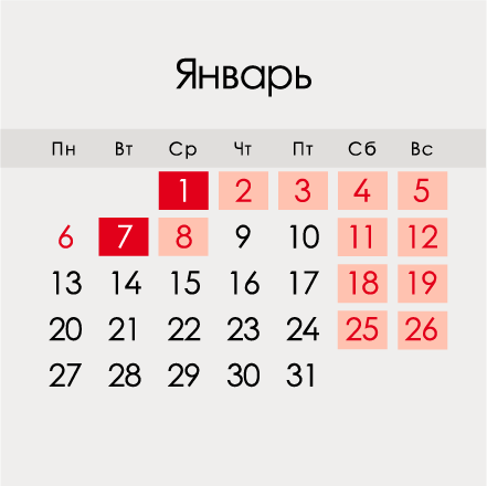 Оплата праздничных и выходных дней в 2020 году – порядок расчета